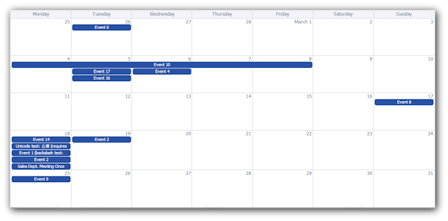 ajax monthly event calendar asp net mvc