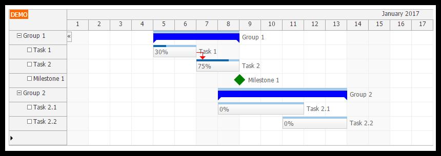 Tutorial angular 2 gantt chart with phpmysql backend daypilot angular2 gantt chart component ccuart Images