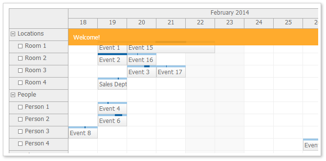 scheduler for javascript html5