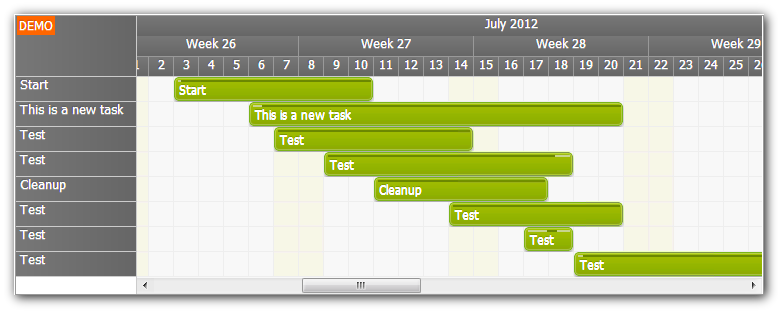 gantt chart for asp.net webforms