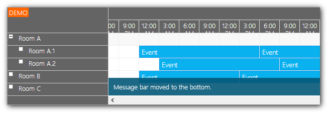 scheduler html5 javascript jquery message