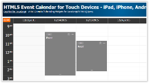 Tutorial: HTML5 Event Calendar for Touch Devices - iPad, iPhone, Android (PHP, JavaScript)