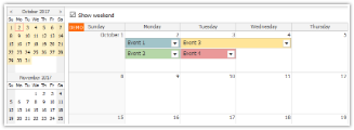 Tutorial: JavaScript Monthly Calendar and Spring Boot Backend