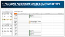 Tutorial: HTML5 Doctor Appointment Scheduling (JavaScript/PHP)