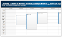 Tutorial: Loading Calendar Appointments from Exchange Server (ASP.NET WebForms)