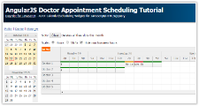 Tutorial: AngularJS Doctor Appointment Scheduling (PHP)