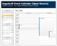 Tutorial: AngularJS Event Calendar - PHP, ASP.NET MVC 5 (Open-Source)