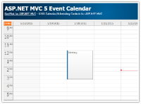 Tutorial: ASP.NET MVC 5 Event Calendar