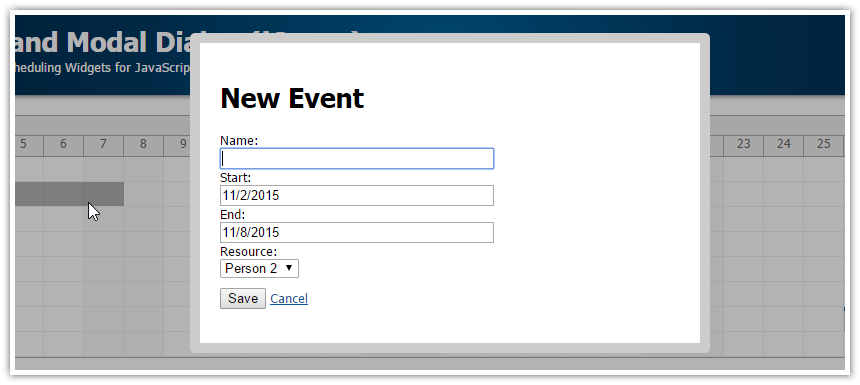 How to write custom events in net