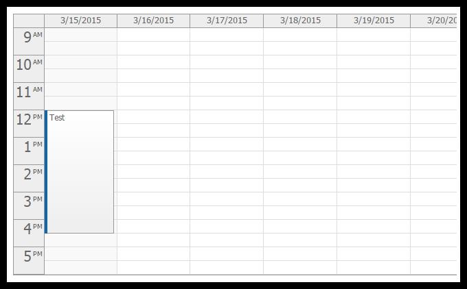 Weekly Calendar Using Javascript : Tutorial angularjs event calendar php asp mvc